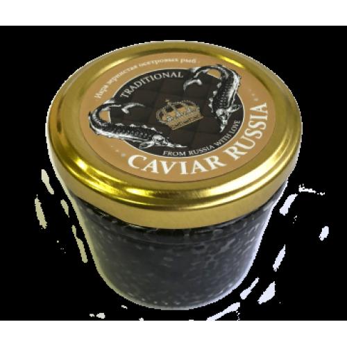 Икра осетровая Caviar Russia Traditional, 100 гр.